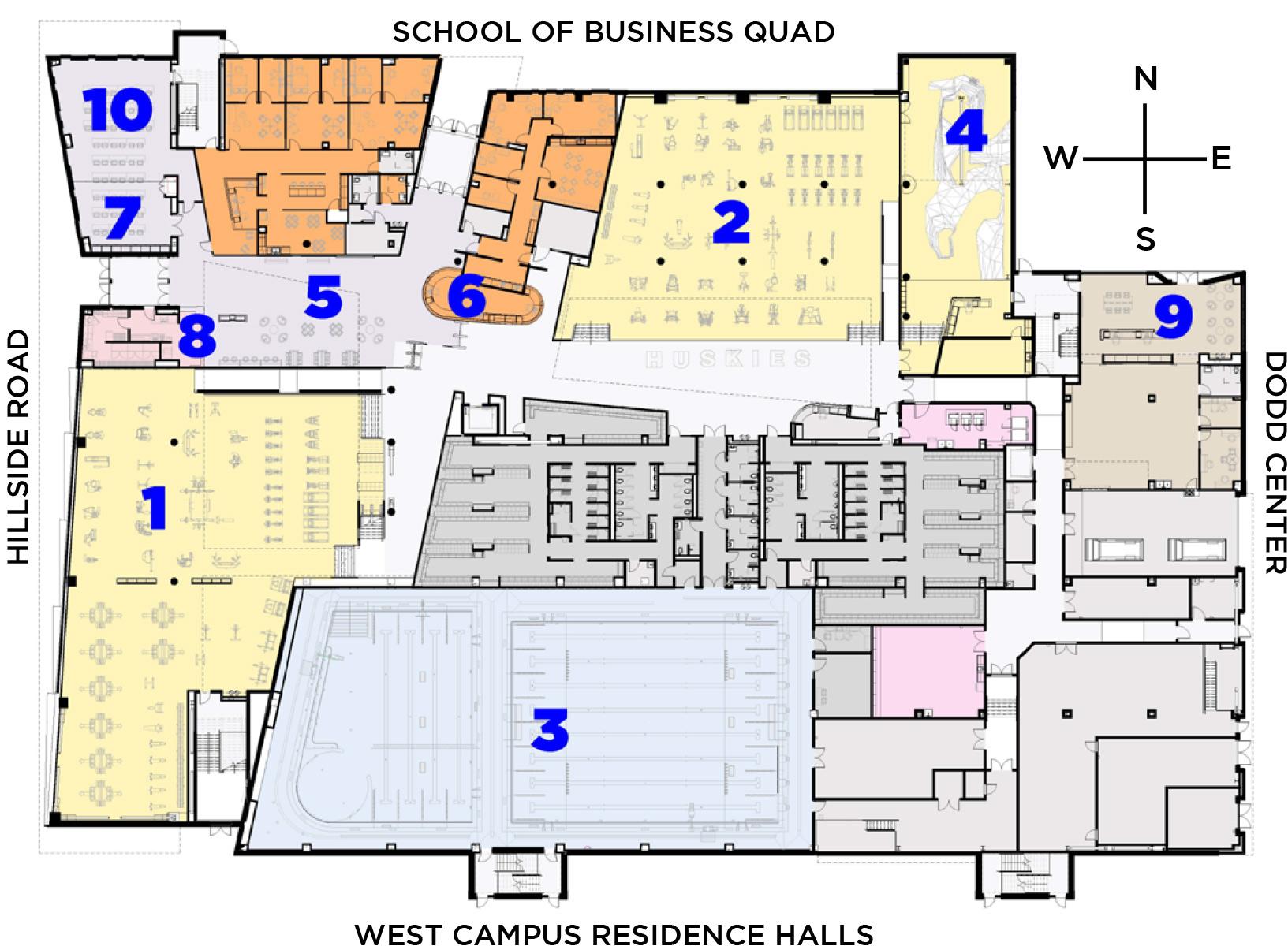floorplan - first floor