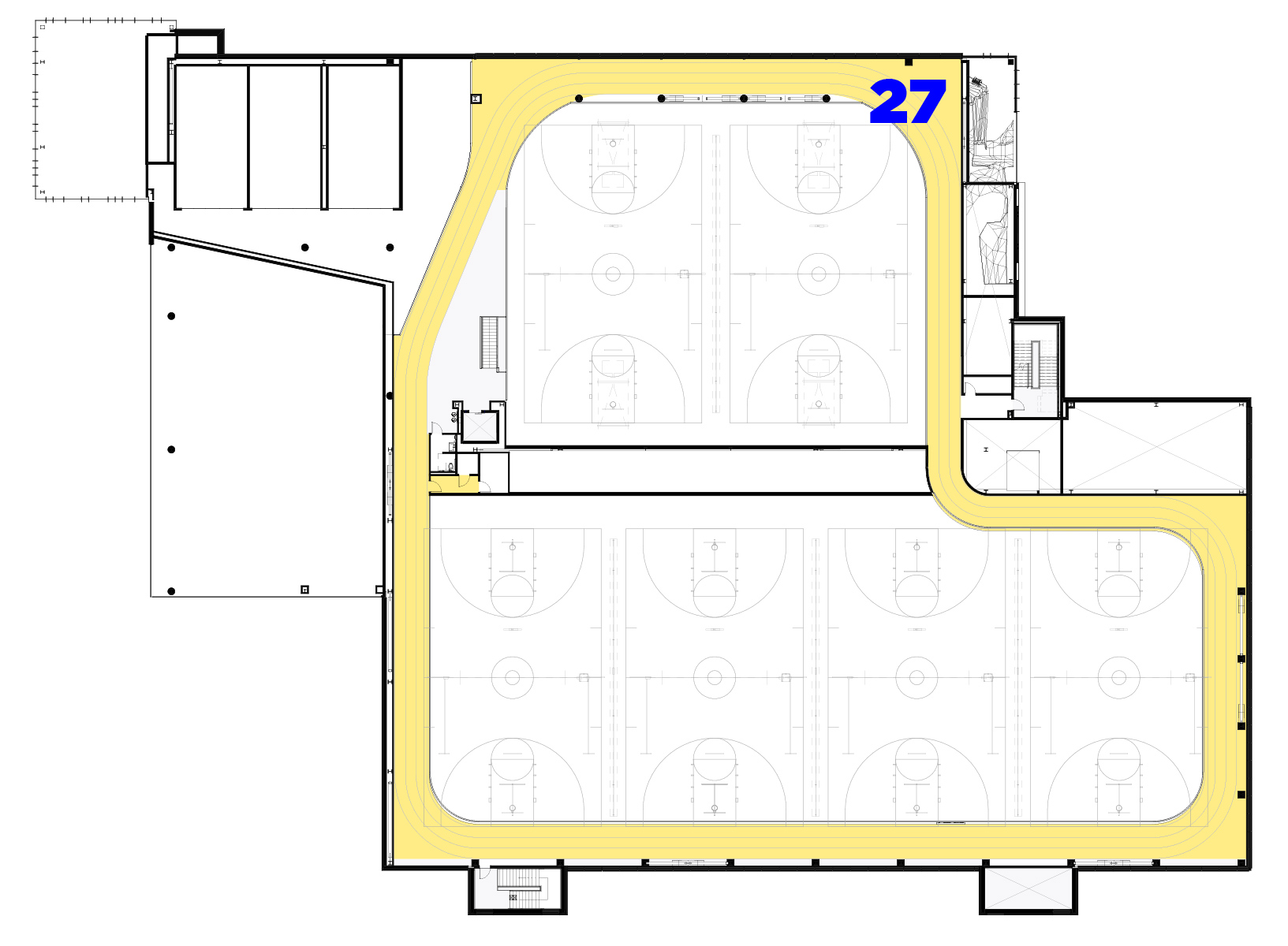 Floor Plan Fourth Floor