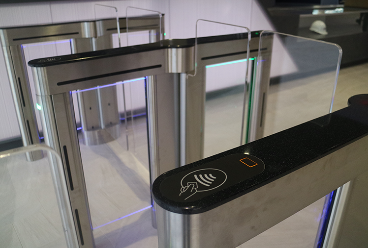 card entry turnstiles