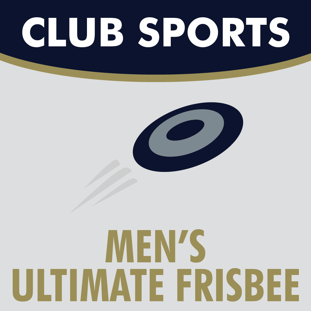 Club Sports Men's Ultimate Frisbee Icon