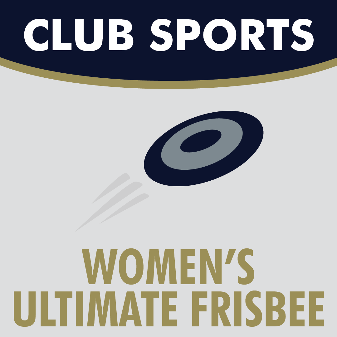 Club Sports Women's Ultimate Frisbee Icon