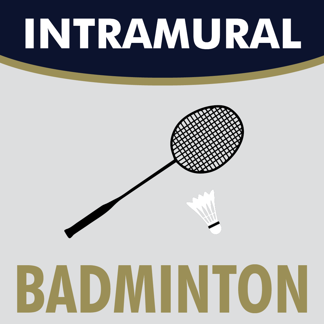 Intramural Badminton logo