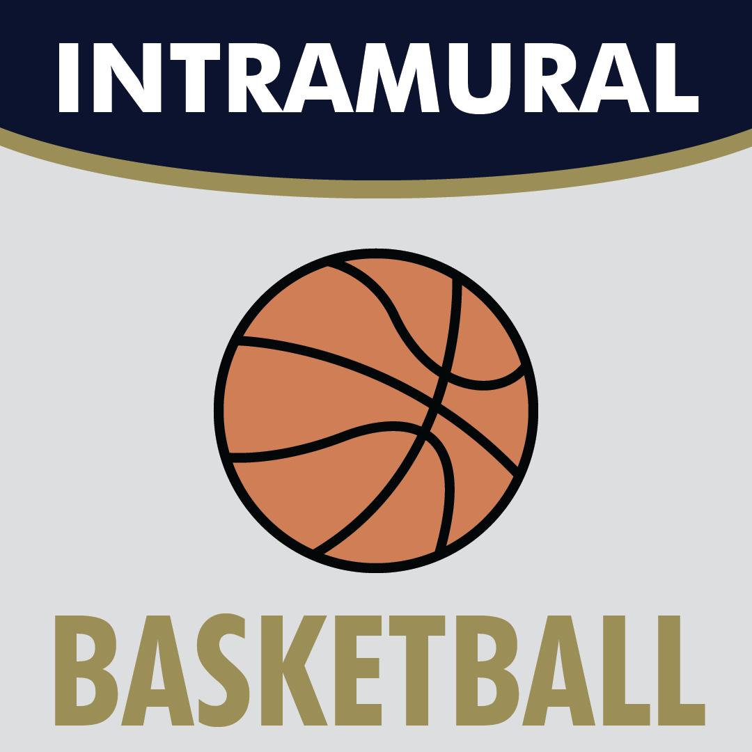 Intramural Basketball logo