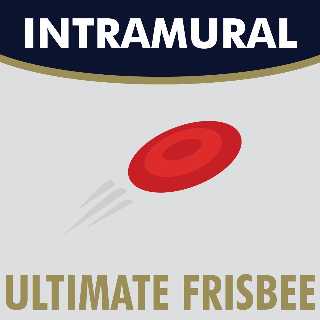 Intramural Ultimate Frisbee logo